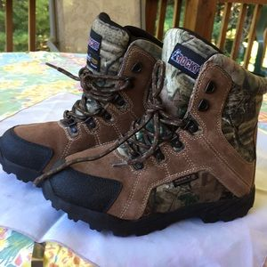 Rocky kids hunting waterproof insulated boots 5.5